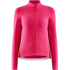 Craft ADV Bike Essence Maglia jersey a maniche lunghe Donna, rosa